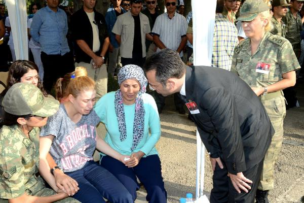 Silvan'da PKK'lı saldırısı; 1 astsubay, 1 uzman çavuş şehit -ek fotoğraflar