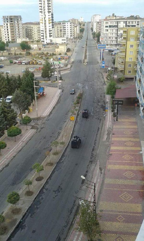 Diyarbakır'ın Silvan İlçesi'nde sokağa çıkma yasağı (2)
