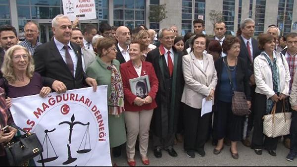Poyrazköy Davası sonrası adliye önünde açıklamalar yapıldı