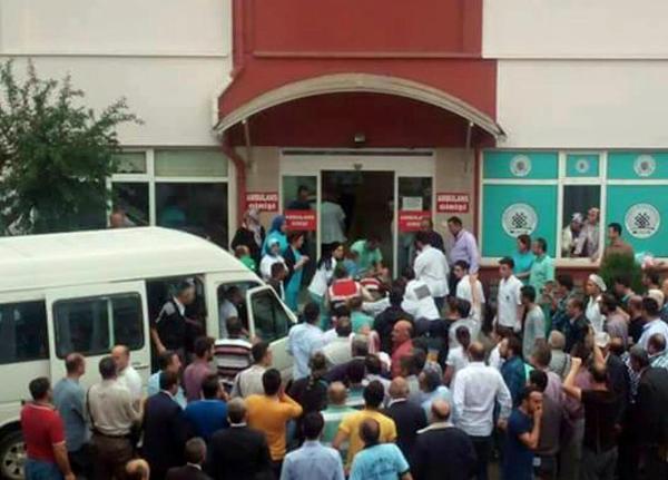Giresun'da jandarma aracına ateş açıldı: 1 asker yaralı