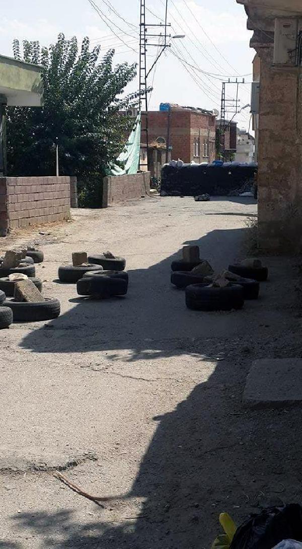 Diyarbakır'ın Silvan İlçesi'nde sokağa çıkma yasağı - ek fotoğraflar