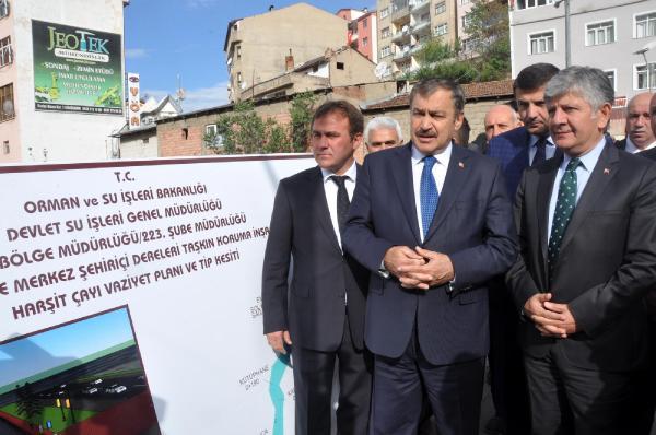 Bakan Eroğlu, Kelkit'te temel atma törenine katıldı