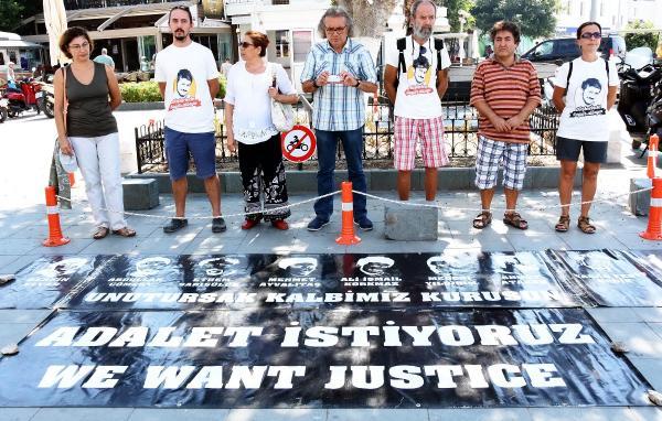 Bodrum'da 'Sessiz Duruş' eylemi 66 hafta sonra sona erdi