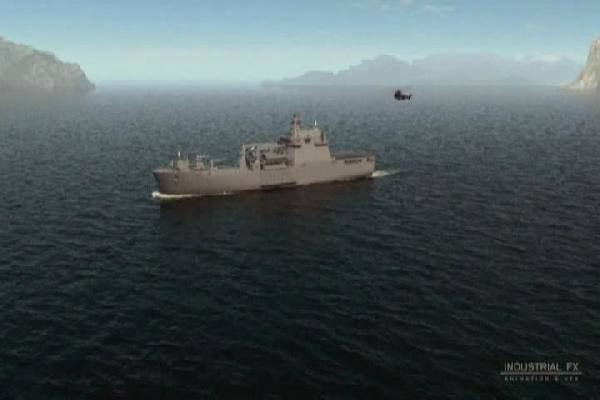 """İşte Türk denizlerindeki yeni """"Bayraktar"""""""