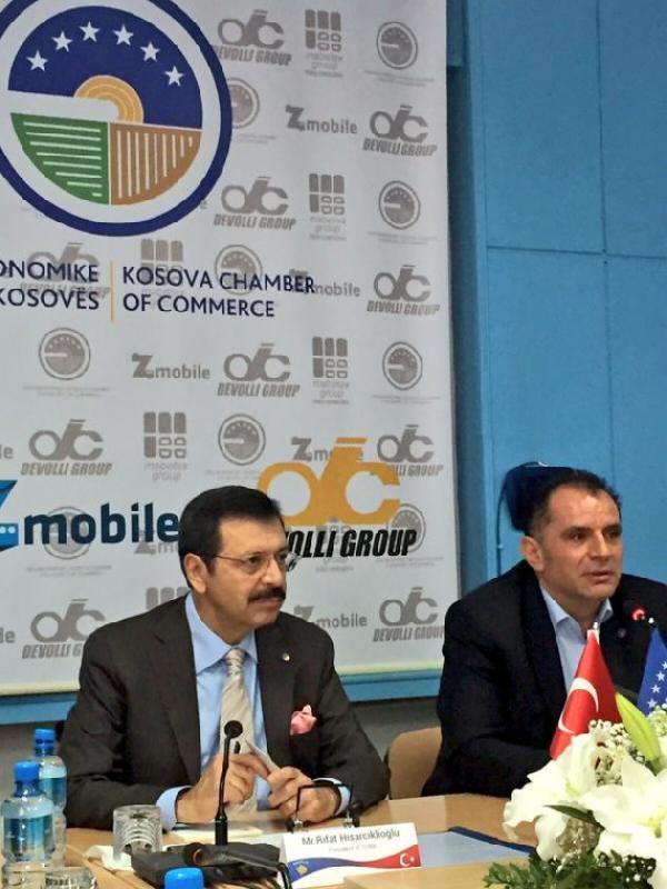 Hisarcıklıoğlu Kosova Ticaret Odası 16 Ekim'de Eurochambers üyesi olacak