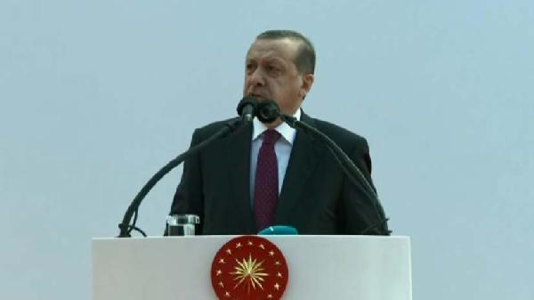 """fotoğraflar//Cumhurbaşkanı Erdoğan """"Bayraktar"""" gemisinin denize indiriliş törenine katıldı"""