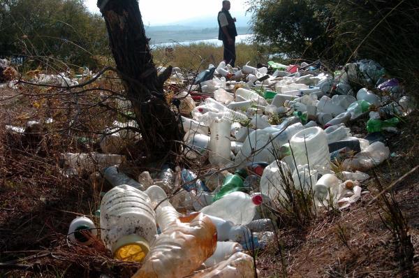 Bayramiç Barajı'ndaki zehirli atık sorunu sürüyor