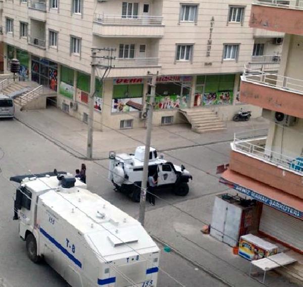 Nusaybin'de sokağa çıkma yasağıyla birlikte başlayan operasyonlar sürüyor