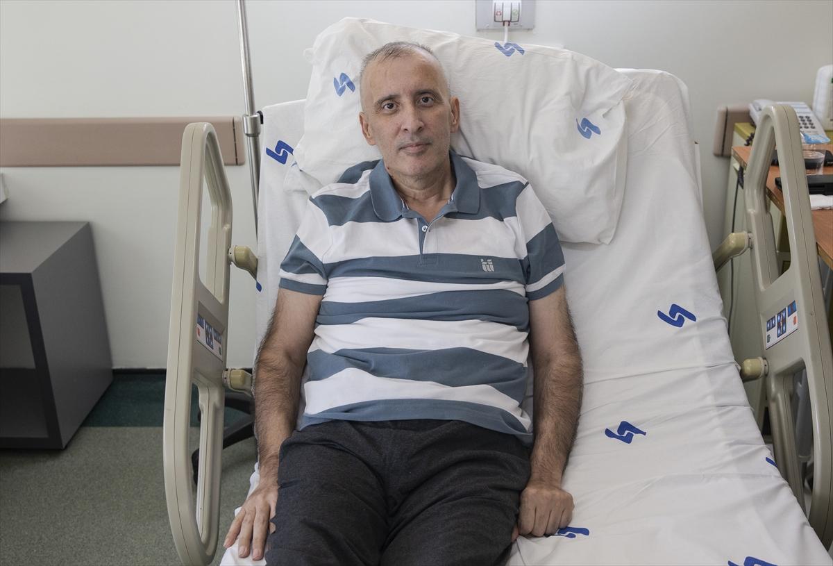 15 gün ömür biçilen gurbetçi Türkiye'de iyileşti