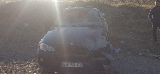Sıla yolunda feci kaza: 1 ölü, 3 yaralı