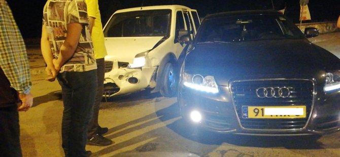 Gurbetçi aileye dönüş yolunda kaza şoku