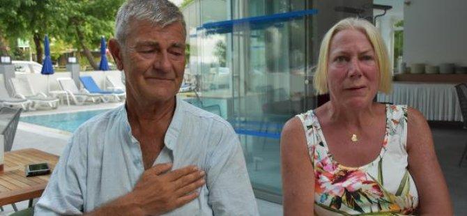 İrlandalı çifte Türk komşuları saldırdı