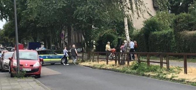 Almanya'da oyun alanında bomba bulundu