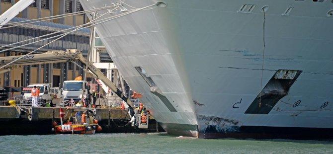 Cruise gemileri yasaklandı