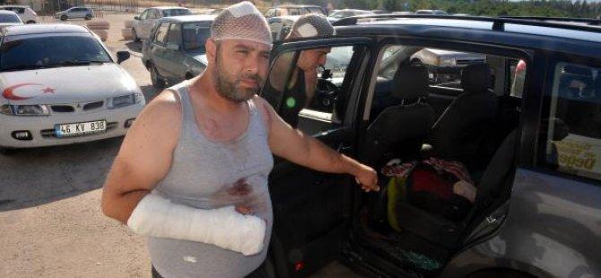 Gurbetçi aileye saldırı: 3'ü çocuk, 12 yaralı