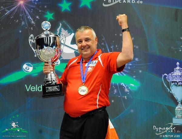 Gurbetçi bilardocu Avrupa şampiyonu
