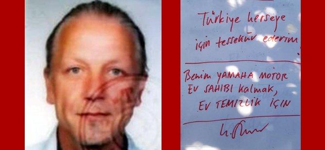 Alman turist evinde ölü bulundu