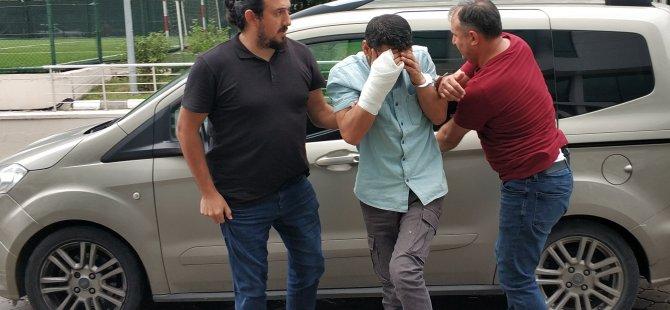 Gurbetçiye şantaj yapan firari tutuklandı