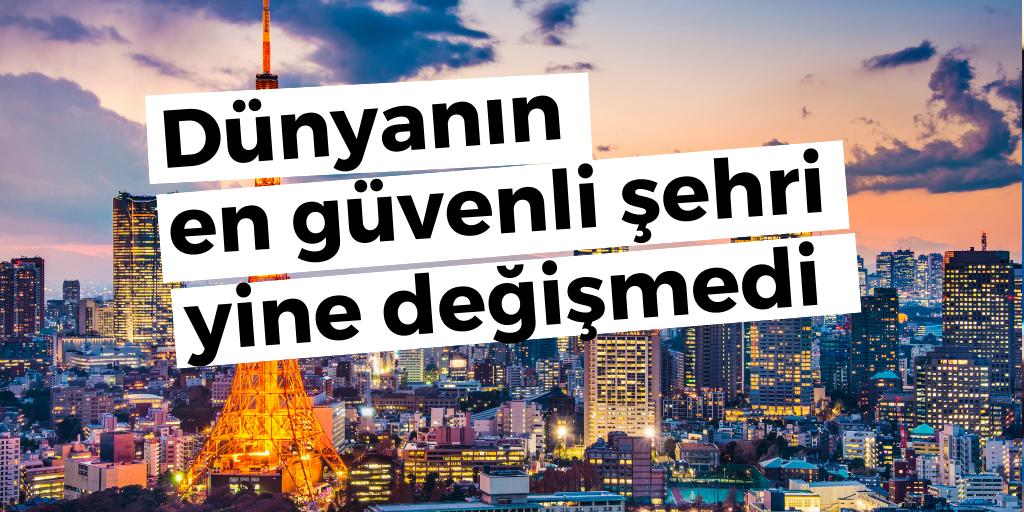 Dünyanın en güvenilir şehri belli oldu