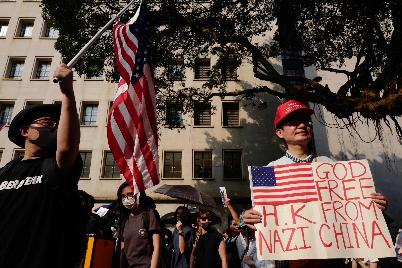 Protestocular Trump'tan yardım istedi