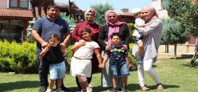 Gurbetçi aileler umudu Türkiye'de buldu