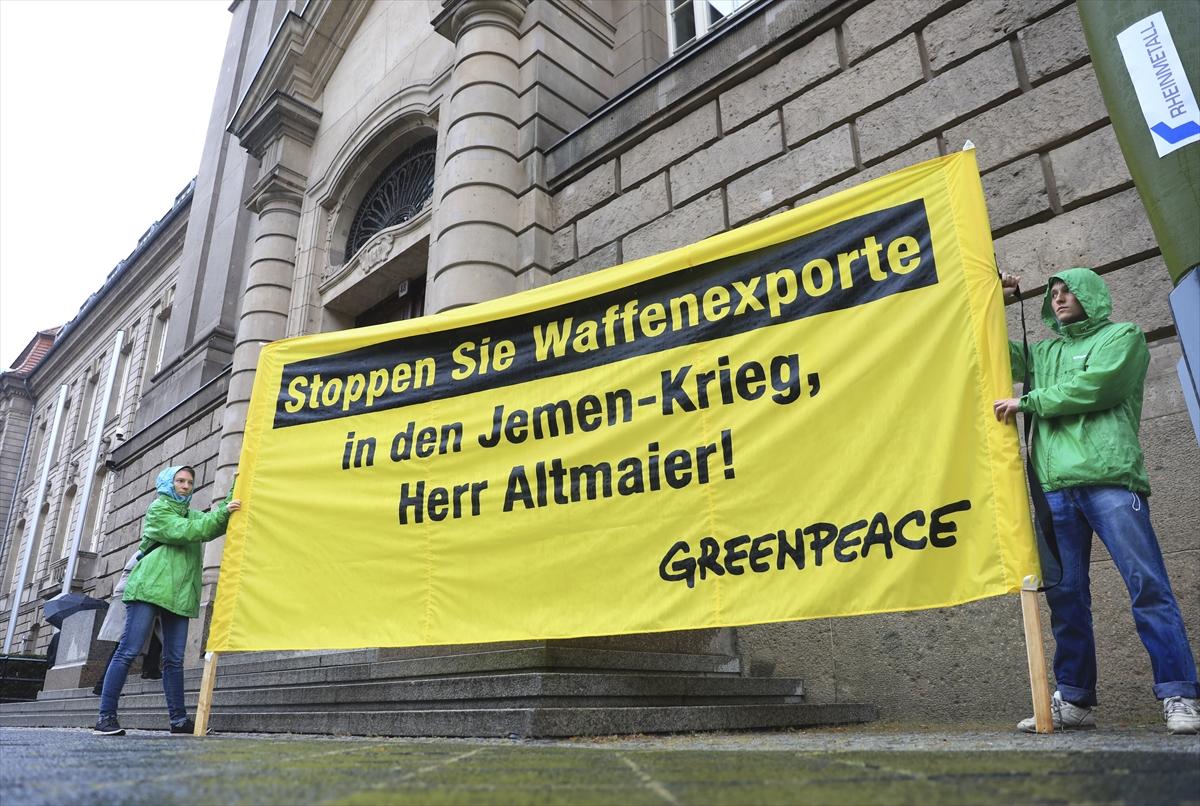 'Altmaier, silah ihracatını durdur'