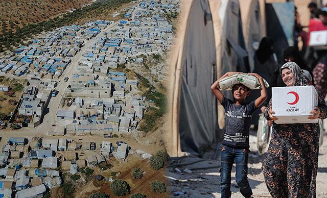 1 milyon Suriyeli sınırımıza dayandı