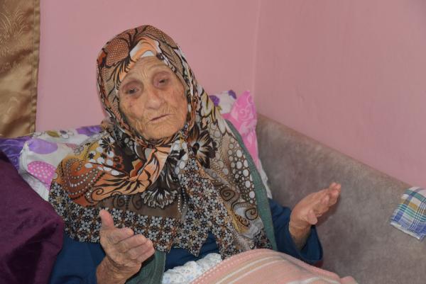 113 yaşındaki Şükriye Nine: Ah Atatürk ah...