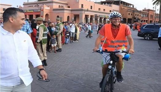 73 yaşında bisikletle Ukrayna'dan Afrika'ya gitti