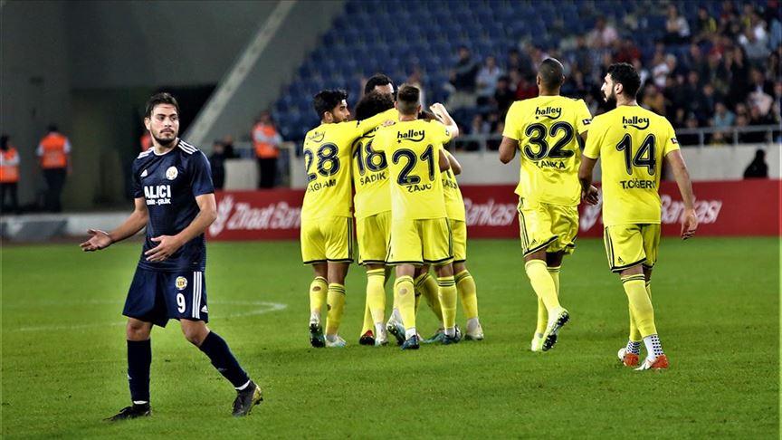Fenerbahçe 3 golle turladı