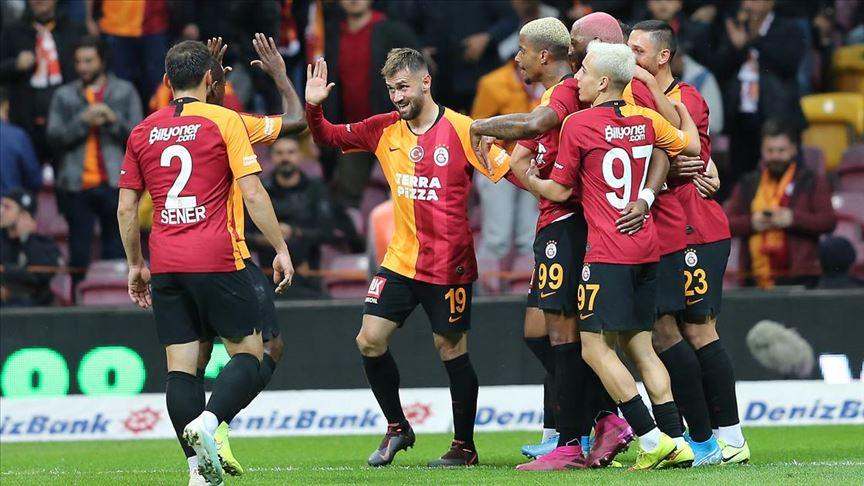 Galatasaray sahasında kazandı