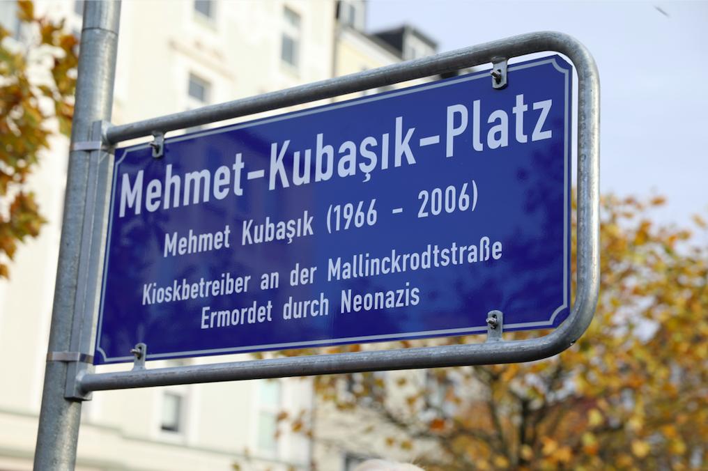 Almanya'da Mehmet Kubaşık Meydanı açıldı
