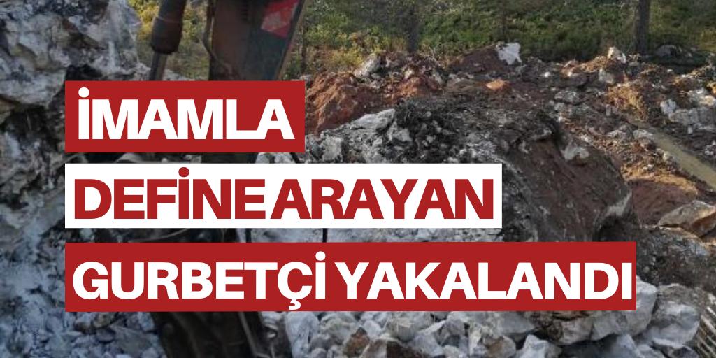 Türkiye'de imamla define arayan gurbetçi yakalandı