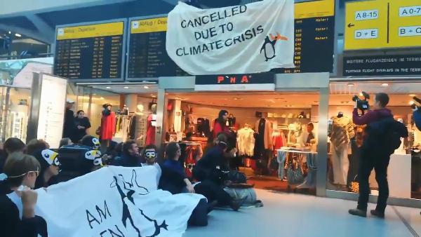 'İklim krizi nedeniyle uçuşlar iptal edildi'