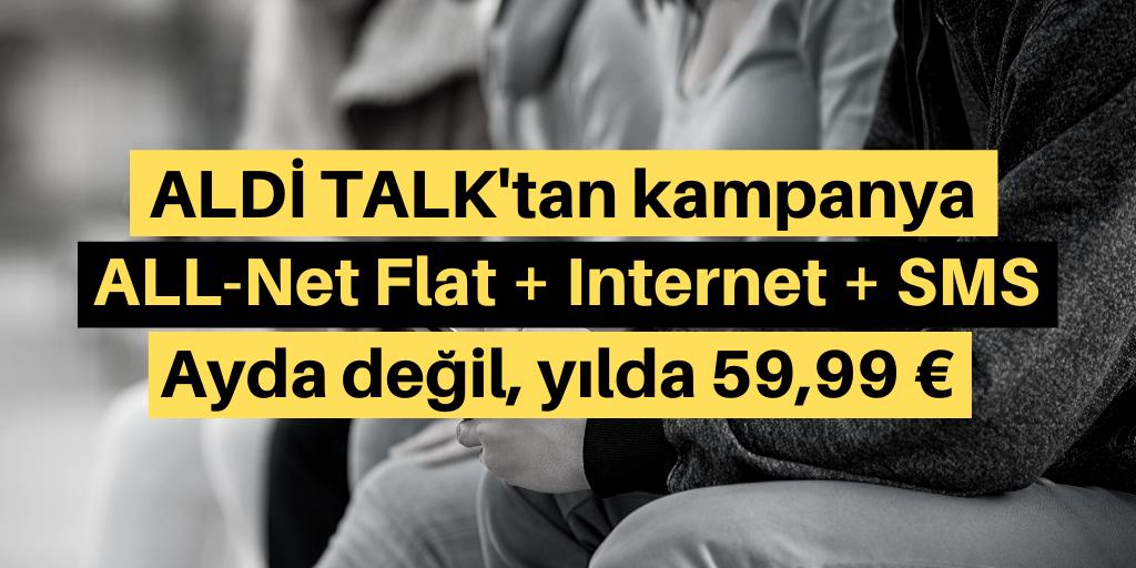 Aldi Talk'tan yeni telefon tarifesi