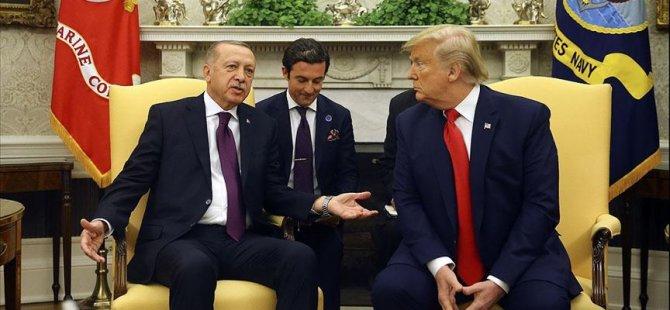 Erdoğan-Trump görüşmesi 1 buçuk saat sürdü