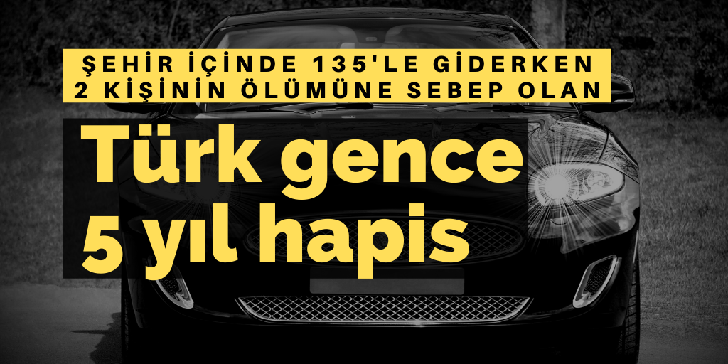 Almanya'da Türk gence hapis cezası