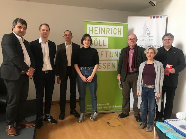 Heinrich Böll Vakfı'ndan Suriye etkinliği