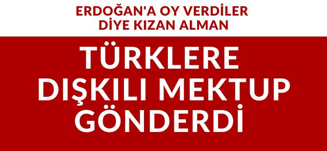Almanya'da Türklere dışkı dolu mektup