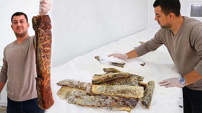 Balık pastırması: Kilosu 350 TL