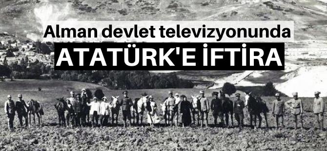 Kamu televizyonunda Atatürk'e iftira