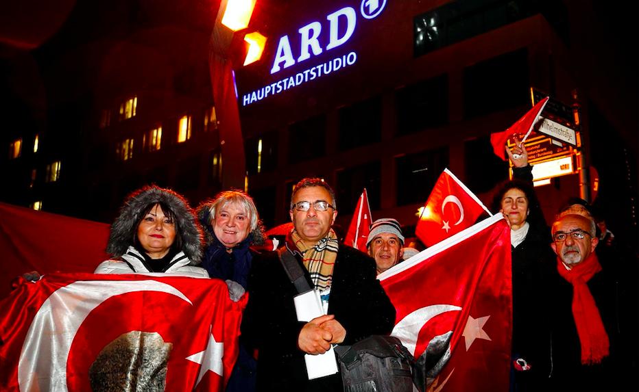Almanya'da ARD protestosu