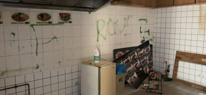 Berlin'de Türk dönerciye saldırı