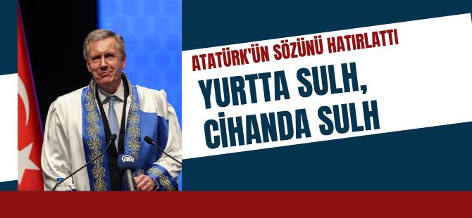 Wulff, Atatürk'ün sözünü hatırlattı