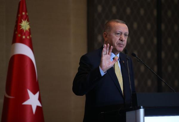 Erdoğan, yurt dışındaki Türklere seslendi