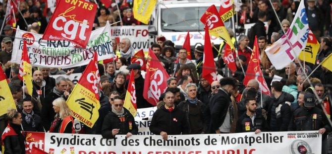 Grev yapan işçilerin maaşı kesilecek