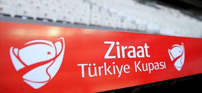 Ziraat Türkiye Kupası'nda son 16 turu