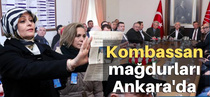 Kombassan mağdurları, Kılıçdaroğlu ile görüştü