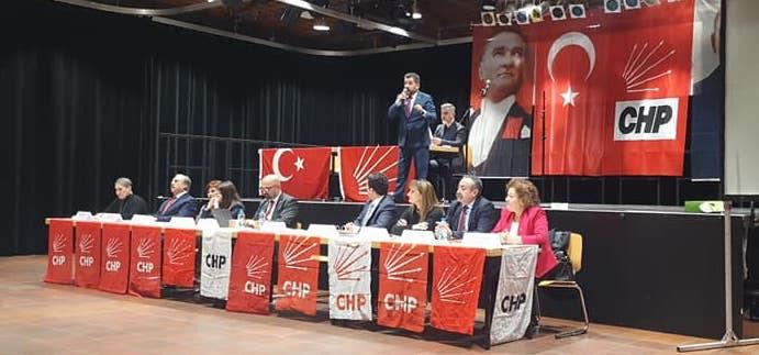 CHP NRW'de yeni yönetim