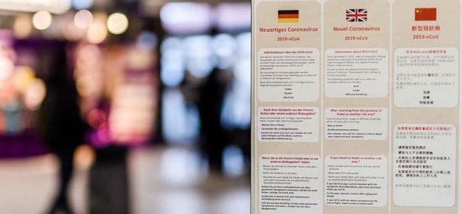 Almanya'da ilk Corona vakası